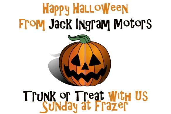 Jack Ingram Motors >> Trunk or Treat with Jack Ingram at Frazer United Methodist | Jack Ingram Motors' Blog