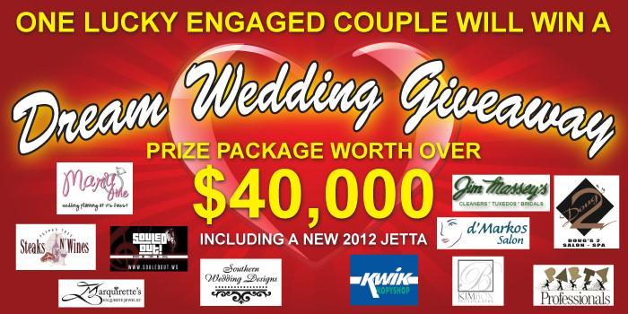 Jack Ingram Volkswagen Dream Wedding Giveaway