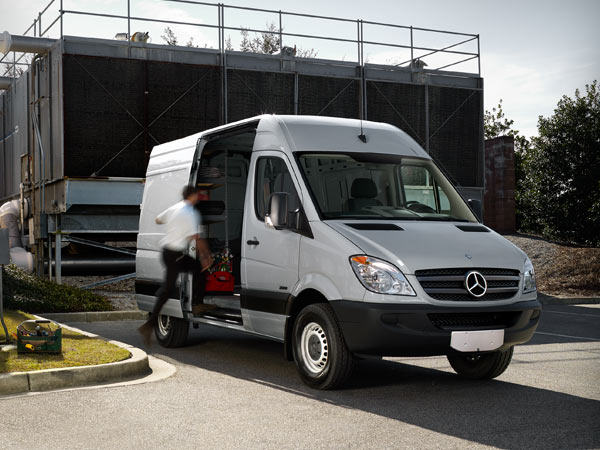 Jack ingram motors introduces the mercedes of vans jack for Mercedes benz work van commercial
