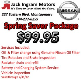 Jack Ingram Montgomery Nissan Service Coupons Jack