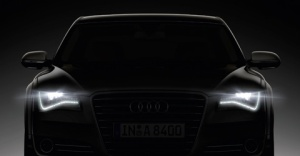 Audi headlights
