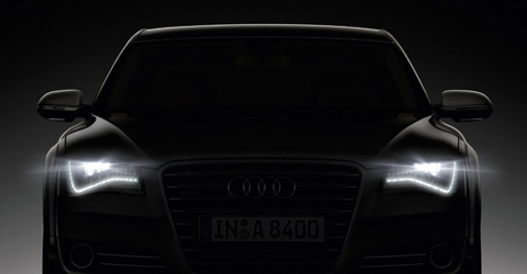 Audi headlights