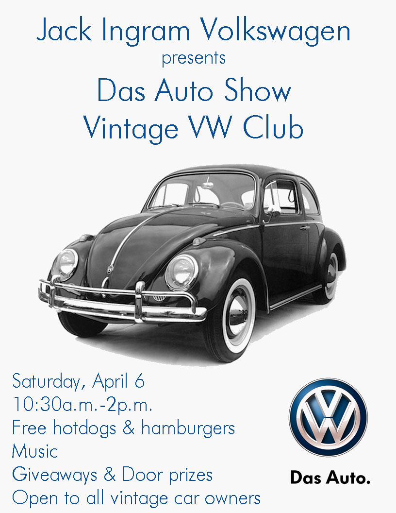 Vintage Volkswagen Jack Ingram Motors 39 Blog