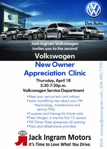 VW Owners Clinic InvitationFINAL