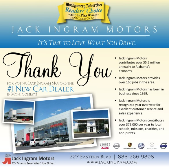 Jack Ingram Motors' Blog